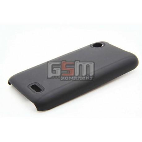 Чехол для Lenovo A660, пластиковый черный
