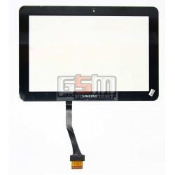 Тачскрин для планшета Samsung P7100 Galaxy Tab, P7500 Galaxy Tab, P7510 Galaxy Tab, черный, (252*171 mm)