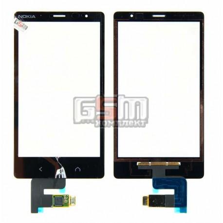 Тачскрин для Nokia X2 Dual Sim, черный