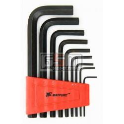 Набор шестигранных ключей MTX 1.5-10мм 9шт