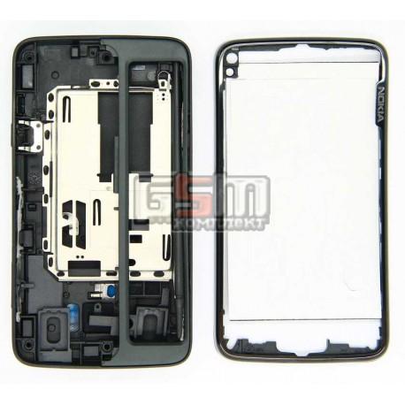 Корпус для Nokia N900, копия AAA, черный