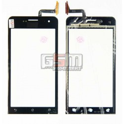Тачскрин для Asus ZenFone 5 (A500KL), ZenFone 5 (A501CG), черный, 5
