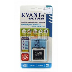 Аккумулятор Kvanta ultra для Nokia 6500 slide BP-5M 1050 mAh