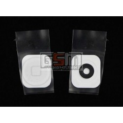 Пластик кнопки меню для Apple iPhone 5, белый
