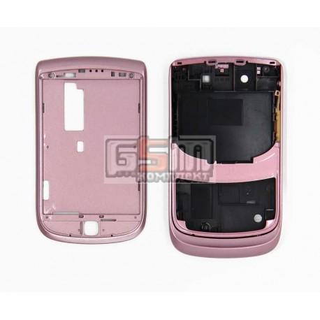 Корпус для Blackberry 9800, розовый, high-copy
