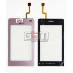 Тачскрин для LG KU990, розовый