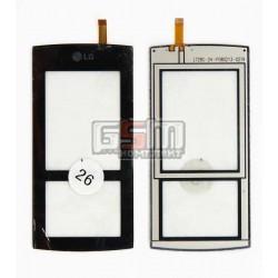 Тачскрин для LG KF600, черный