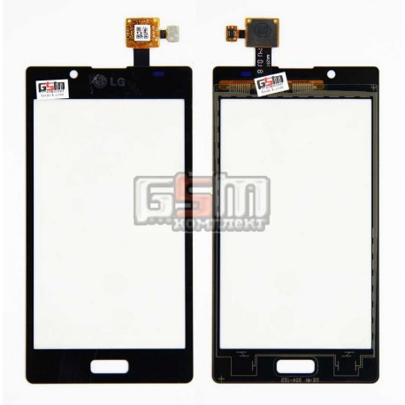 Тачскрин для LG P700 Optimus L7, P705 Optimus L7, черный, copy