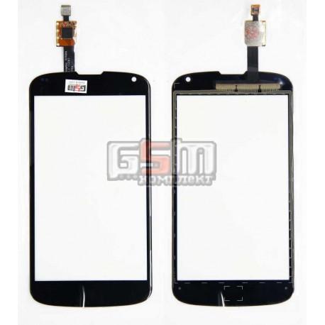 Тачскрин для LG E960 Nexus 4, черный
