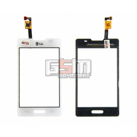 Тачскрин для LG E440 Optimus L4x, белый
