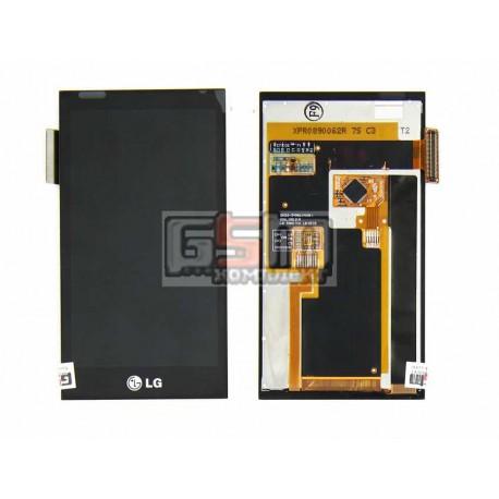 Дисплей для LG GD880, с сенсорным экраном (дисплейный модуль)