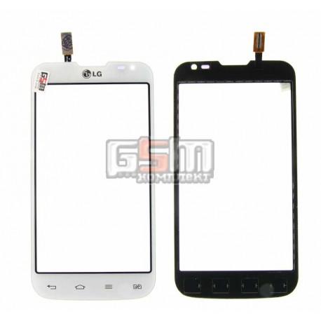 Тачскрин для LG D325 Optimus L70 Dual SIM, белый, (124*64мм)