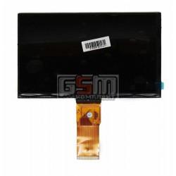 Экран (дисплей, монитор, LCD) для китайского планшета 7, 50 pin, с маркировкой FPC070-50-02, MIKI6910, KR070PM7T, 1030300713, WD TG7650C-E, LJD700B003A-FPC-1.1, MF0701595002C, BF261-070-01, для Bravis NP 725 3G, размер 163*97, разрешением 800*480, толщи
