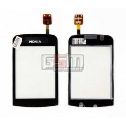 Тачскрин для Nokia C2-02, C2-03, C2-06, C2-07, C2-08, копия, черный