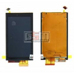 Дисплей для Sony Ericsson U10, с сенсорным экраном (дисплейный модуль)