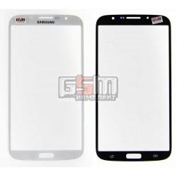 Скло дисплея Samsung I9200 Galaxy Mega 6.3, I9205 Galaxy Mega 6.3, біле
