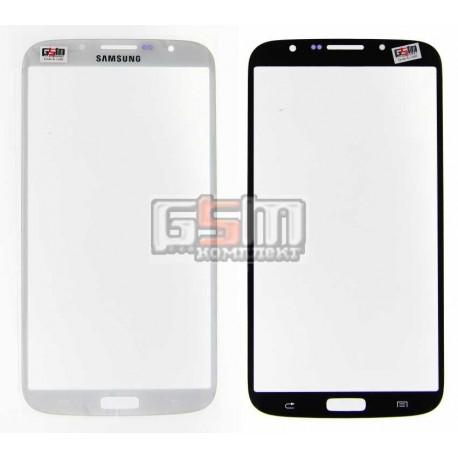 Стекло корпуса для Samsung I9200 Galaxy Mega 6.3, I9205 Galaxy Mega 6.3, белое