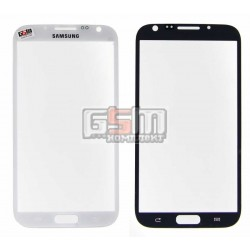 Стекло корпуса для Samsung N7100 Note 2, белое