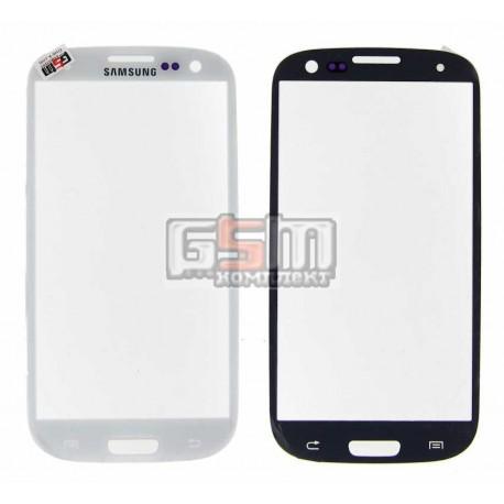 Стекло корпуса для Samsung I9300 Galaxy S3, I9305 Galaxy S3, белое