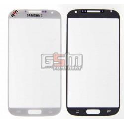 Стекло корпуса для Samsung I9500 Galaxy S4, I9505 Galaxy S4, белое
