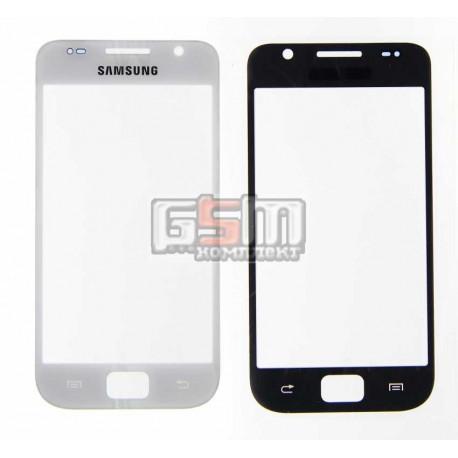 Скло дисплея Samsung I9000 Galaxy S, біле