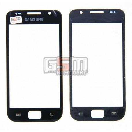 Стекло корпуса для Samsung I9000 Galaxy S, черное