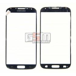Стекло корпуса для Samsung I9500 Galaxy S4, I9505 Galaxy S4, синее
