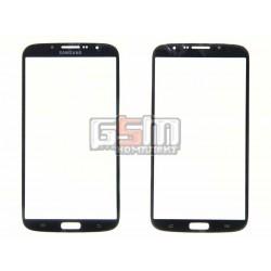 Скло дисплея Samsung I9200 Galaxy Mega 6.3, I9205 Galaxy Mega 6.3, чорне