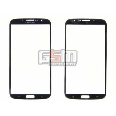 Стекло корпуса для Samsung I9200 Galaxy Mega 6.3, I9205 Galaxy Mega 6.3, черное