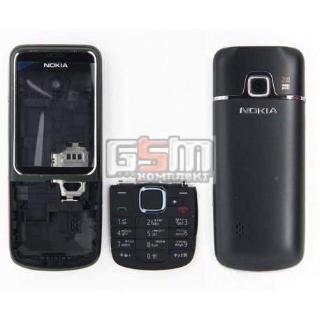 Корпус для Nokia 2710n, черный, high-copy, с клавиатурой