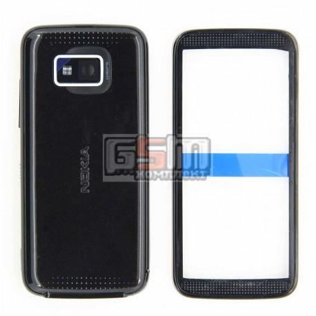 Корпус для Nokia 5530, черный, копия ААА