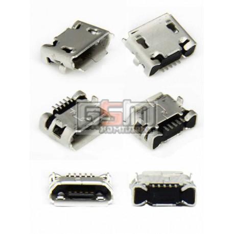 Коннектор зарядки для Fly DS104D, DS106D, DS107D, DS115, DS123, DS124, E158, E185, E210, IQ230, IQ275 Marathon, IQ4403 Energie 3