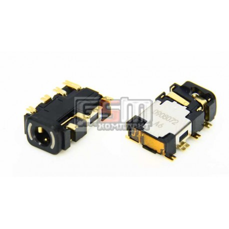 Коннектор handsfree для Nokia 2630, 3110c, 3500, 5200, 5300, 5610, 5700, 6120c, 6300, 6500s, 7500, E52