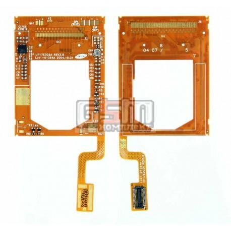 Шлейф для LG U8110, U8120, межплатный, с компонентами