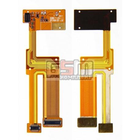 Шлейф для LG KU800, межплатный, с компонентами
