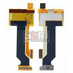 Шлейф для LG GU280, межплатный, с компонентами