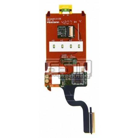 Шлейф для Sony Ericsson Z320, межплатный, камеры, динамика, с компонентами