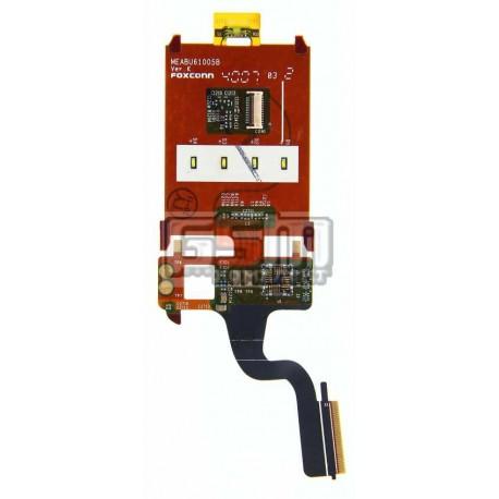 Шлейф для Sony Ericsson Z250, межплатный, камеры, динамика, с компонентами