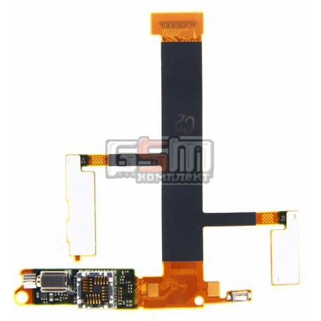 Шлейф для Sony Ericsson W350, камеры, динамика, с компонентами
