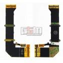 Шлейф для Sony Ericsson S500, W580, межплатный, широкий, с компонентами