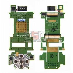 Плата дисплея для Samsung E900, с клавиатурным модулем