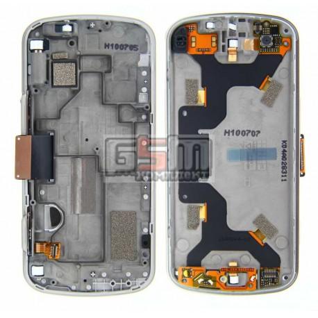 Шлейф для Nokia N97, межплатный, с камерой, с коннектором, со слайдером