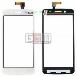 Тачскрин для Prestigio MultiPhone 5507 Duo, белый, #TF0635A-09 A02805001A
