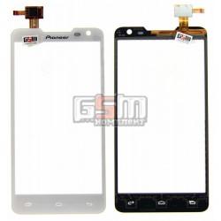 Тачскрин для Pioneer S90W; Prestigio MultiPhone 5044 Duo, белый, #CT4F044FPC-A1-E