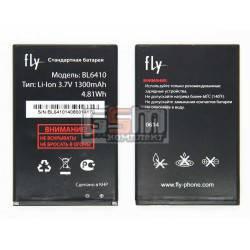 Аккумулятор BL6410 для Fly TS111, original, (Li-ion 3.7V 1300mAh), #3.H-7201-CF910A13-AX0/3.H-7201-CF910A13-AX1