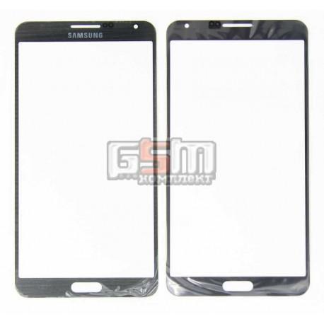 Стекло корпуса для Samsung N900 Note 3, N9000 Note 3, N9005 Note 3, N9006 Note 3, серое
