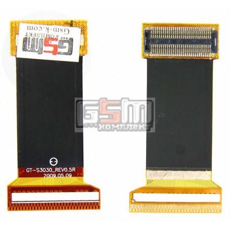 Шлейф для Samsung S3030, межплатный, с компонентами