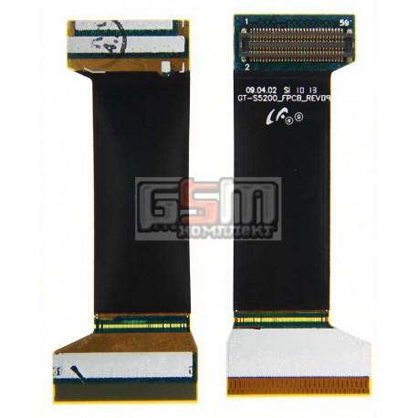 Шлейф для Samsung S5200, межплатный, с компонентами