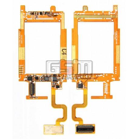 Шлейф для Samsung E790, межплатный, с компонентами