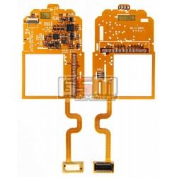 Шлейф для Samsung E750, межплатный, с компонентами